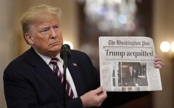 Cựu Tổng thống Mỹ Donald Trump thoát bị luận tội