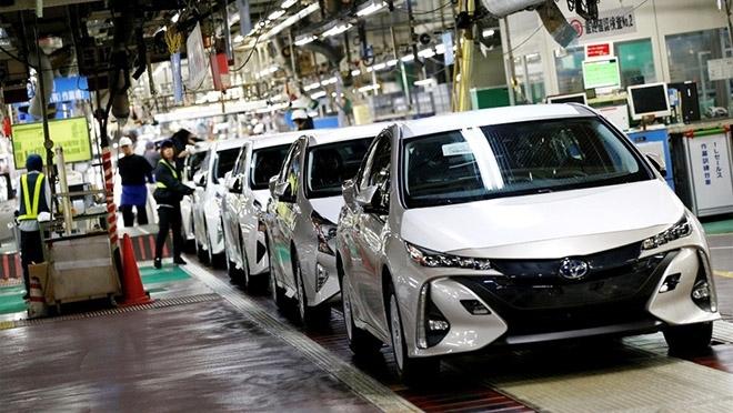 Toyota tạm thời đóng cửa 9 nhà máy tại Nhật do động đất