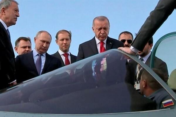 [ẢNH] Thổ Nhĩ Kỳ bắt đầu đàm phán mua Su-35 và Su-57 của Nga