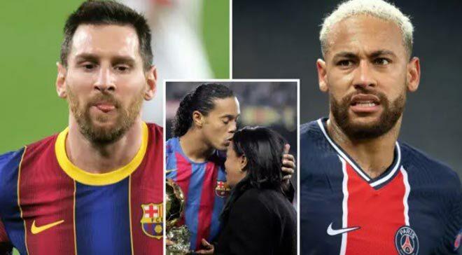 Ronaldinho đau đớn vì mẹ qua đời: Không dự đám tang, Messi chia buồn sâu sắc