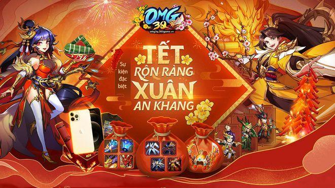 OMG 3Q: Tham gia 'Tết Rộn Ràng – Xuân An Khang', nhận ngay iPhone 12 Pro Max