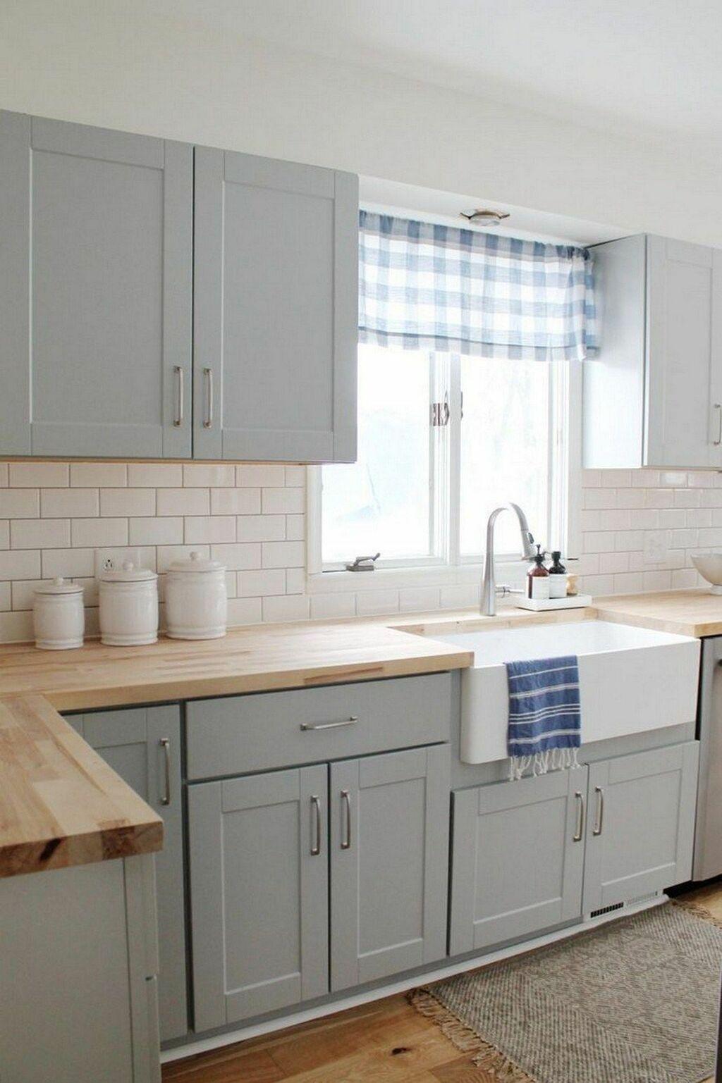 Những phòng bếp ấn tượng nhờ mặt bếp bằng gỗ