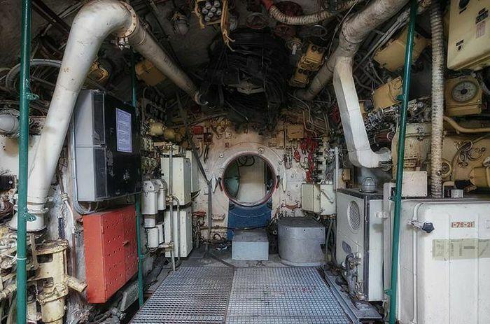 """Ngắm """"nội thất"""" tàu ngầm Liên Xô"""