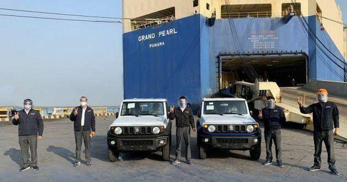 Suzuki Jimny lắp ráp tại Ấn Độ chính thức được xuất khẩu