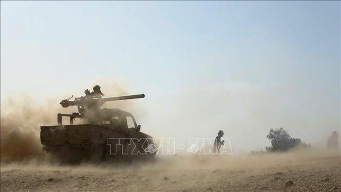 Giao tranh ác liệt giữa quân đội và lực lượng Houthi tại Marib, Yemen