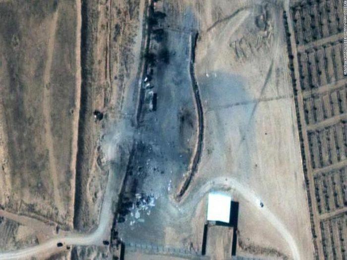 Mỹ tung hình ảnh cho thấy mức độ thiệt hại vụ không kích Syria