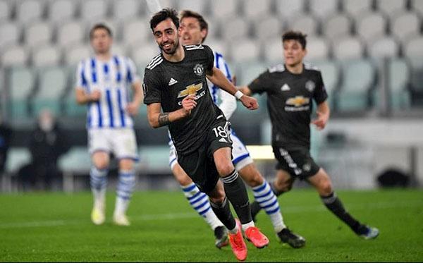 """3 nhân tố """"vàng"""" mở ra chiến thắng 4 sao của Man Utd trước Sociedad"""