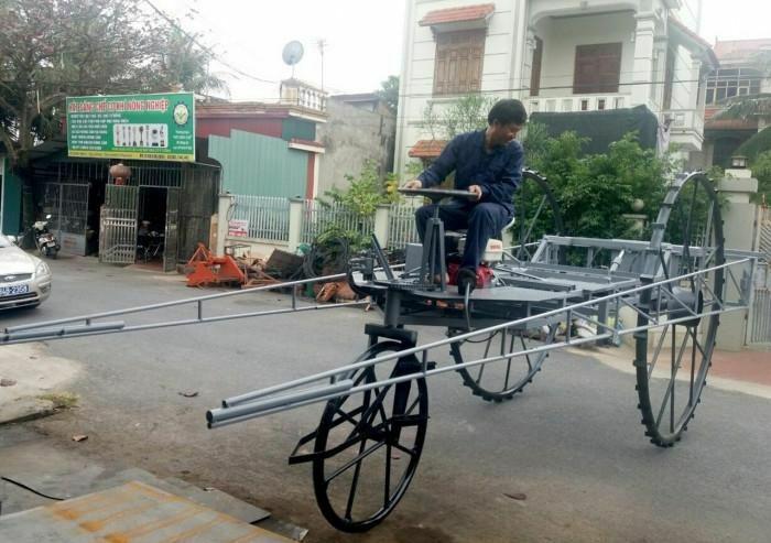 Anh nông dân Việt với nhiều sáng chế khiến thế giới ngả mũ thán phục