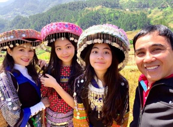 Hạt Dẻ – gái út 13 tuổi nhà Quyền Linh hé lộ chiều cao đáng ghen tị