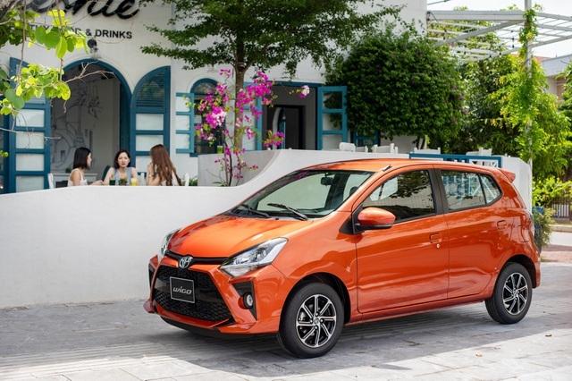 Sắp 8/3, Toyota Wigo chính là mẫu xe ưu tiên hàng đầu cho phái đẹp