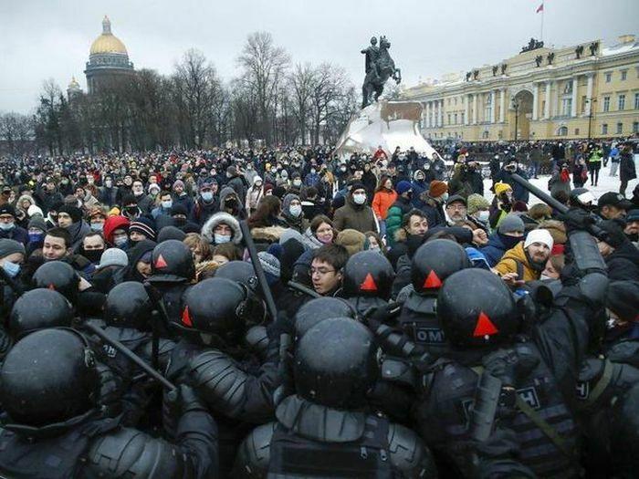 Nga tin có thể dễ dàng dập tắt biểu tình ủng hộ ông Navalny