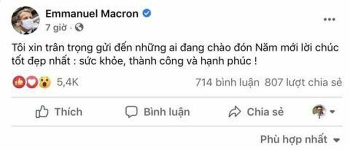 Lời chúc Tết bằng tiếng Việt của các lãnh đạo nước ngoài