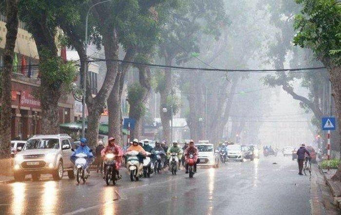 Dự báo thời tiết 17/2/2021: Thủ đô Hà Nội mưa rét