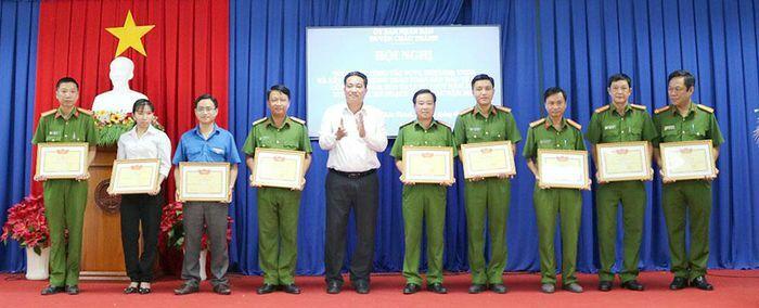 Châu Thành nhân rộng các mô hình phòng, chống tội phạm hiệu quả