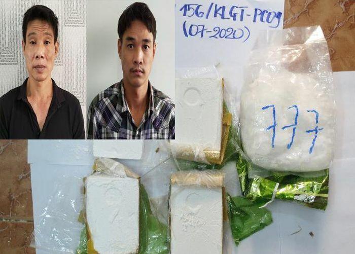 Đề nghị truy tố hai đối tượng vận chuyển trái phép ma túy