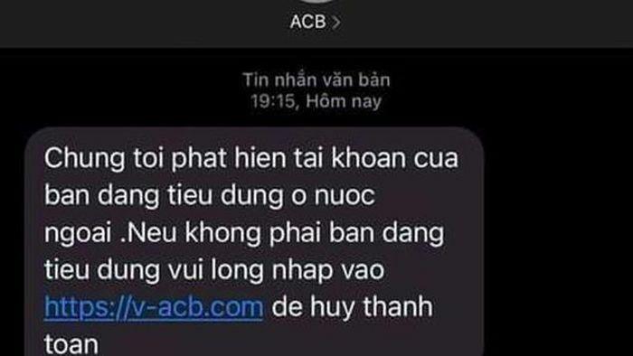 Cảnh báo mạo danh phát tán tin nhắn rác lừa đảo nhắm vào ngân hàng