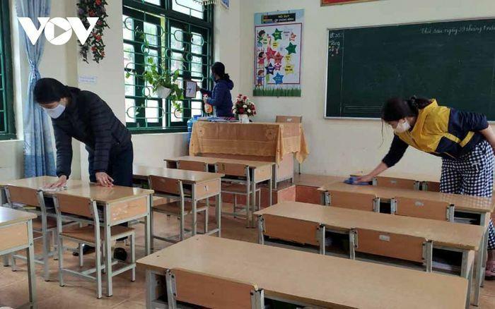 Lai Châu đảm bảo an toàn phòng chống dịch, đón học sinh trở lại lớp
