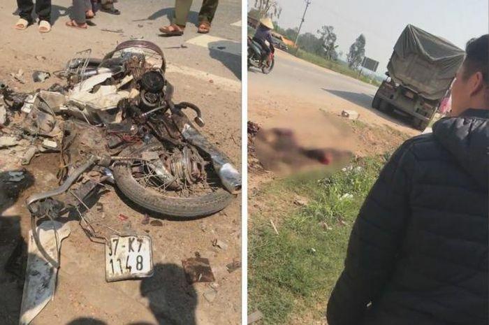 Tai nạn giao thông nghiêm trọng, người phụ nữ biến dạng sau tai nạn