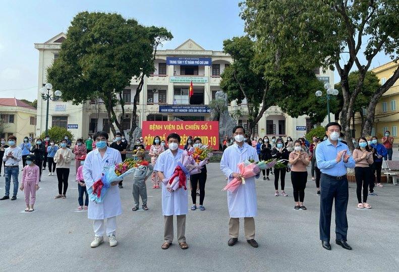 TIN VUI: 90 bệnh nhân COVID-19 ở Hải Dương xuất viện