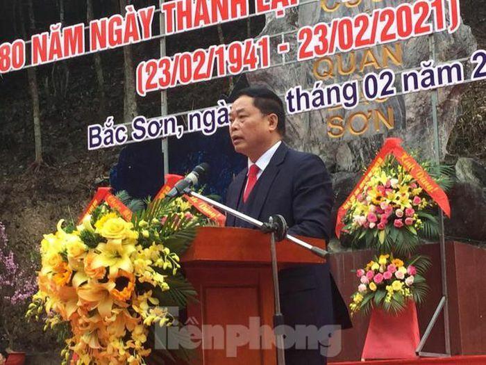 Kỷ niệm 80 năm Ngày thành lập Đội Cứu quốc quân 1