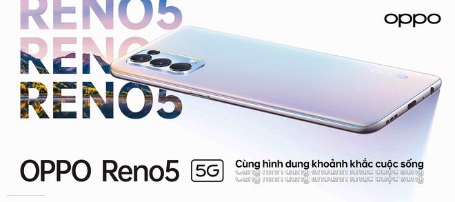 OPPO Reno5 5G chính thức ra mắt tại Việt Nam với giá 11.9 triệu đồng