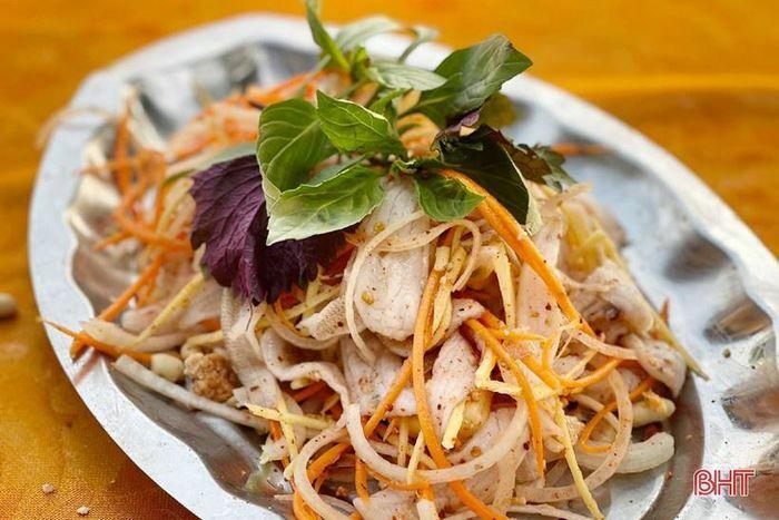 Gỏi cá đục – món ngon của ngư dân vùng biển Hà Tĩnh