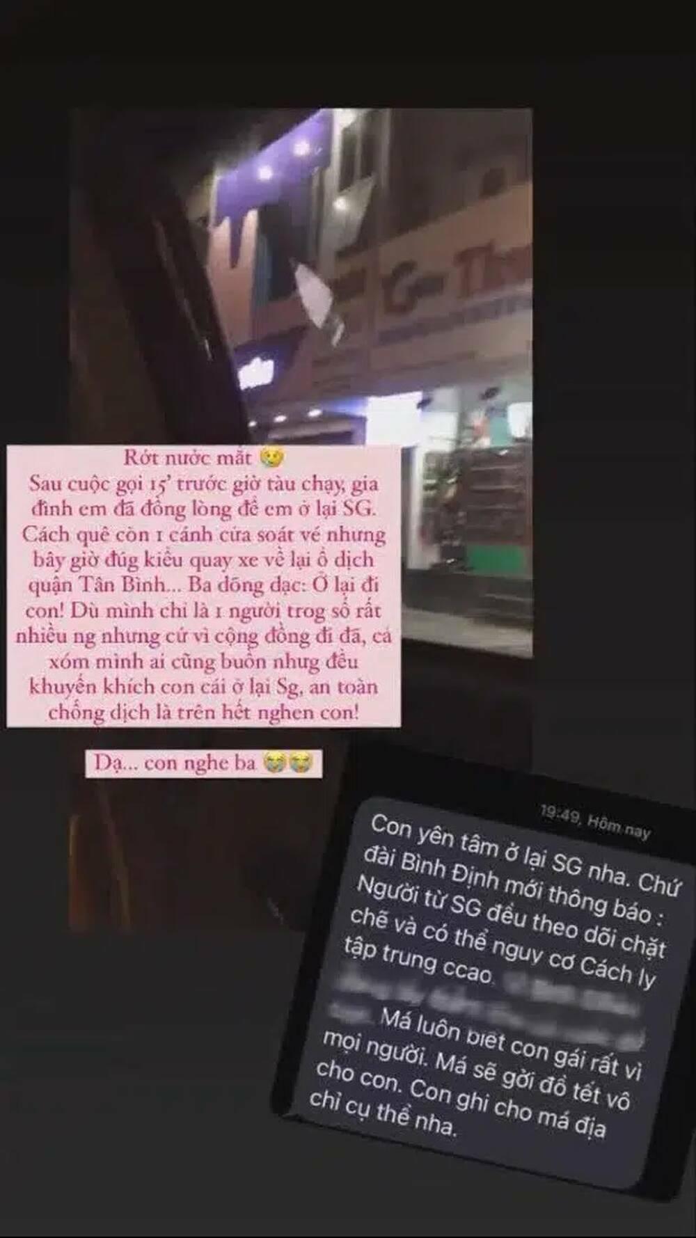 15 phút trước khi tàu chạy, cô gái Bình Định quyết định ở lại Sài Gòn đón Tết sau cuộc gọi với cha