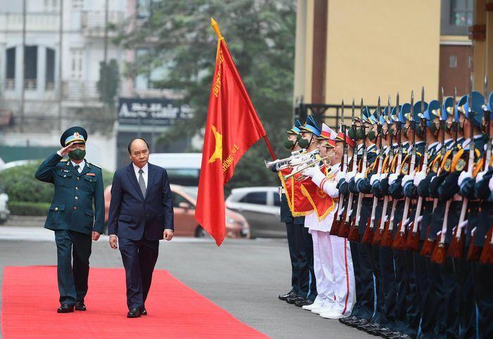 Thủ tướng Nguyễn Xuân Phúc thăm, làm việc với Sư đoàn 361, Quân chủng Phòng không – Không quân