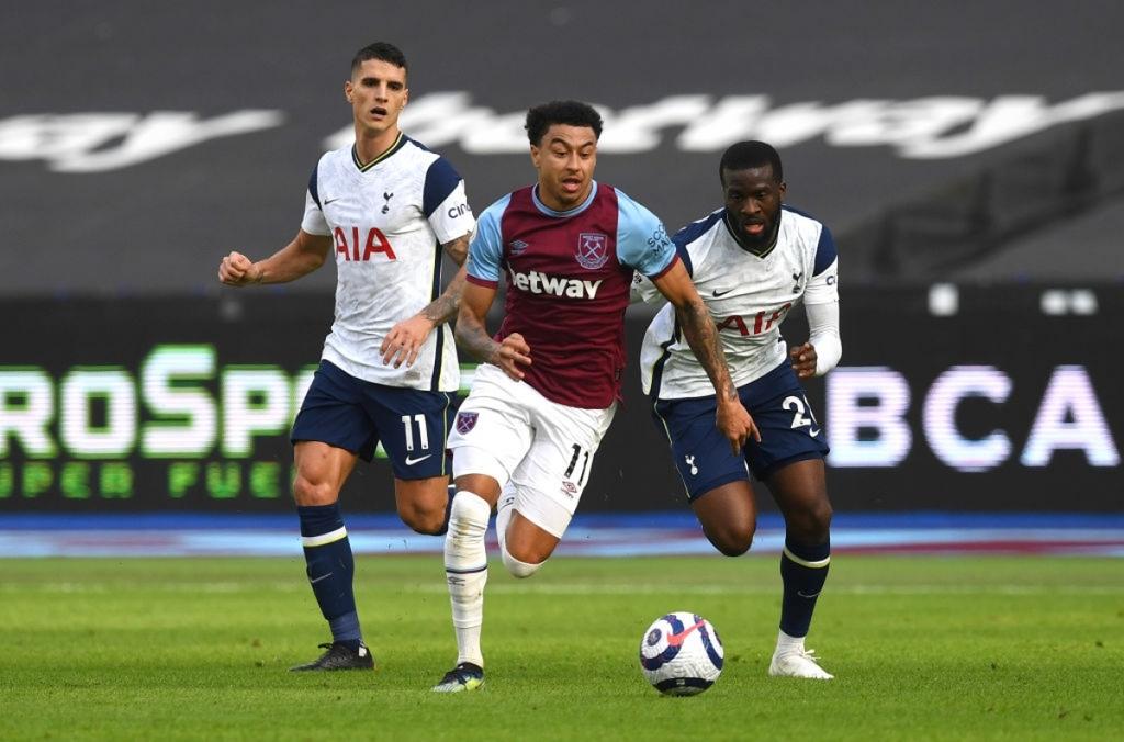Jesse Lingard xé lưới Tottenham, David Moyes lần đầu thắng Jose Mourinho