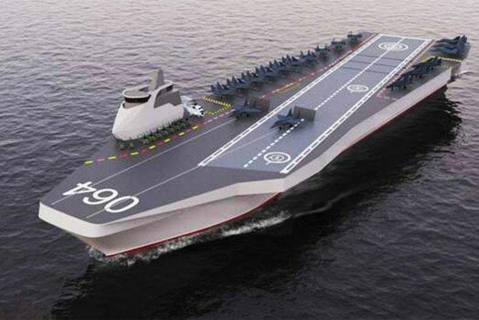 Nga phát triển tàu sân bay mới có thể mang theo chiến cơ Su-57 và Okhotnik