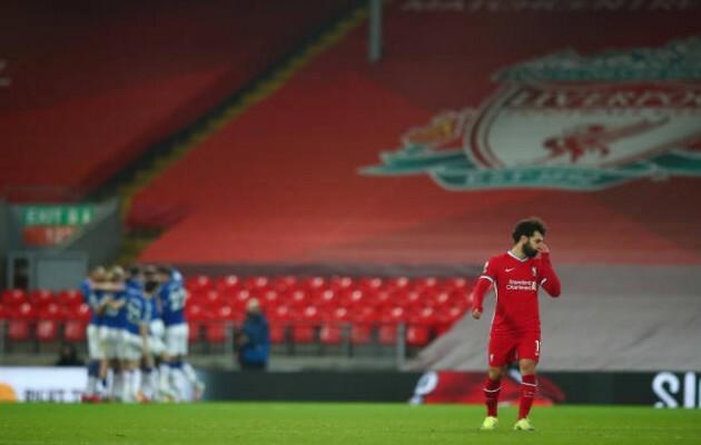 """5 điểm nhấn Liverpool 0-2 Everton: """"Hàng thải Real"""" hóa hung thần; The Kop tạm biệt Top 6?"""