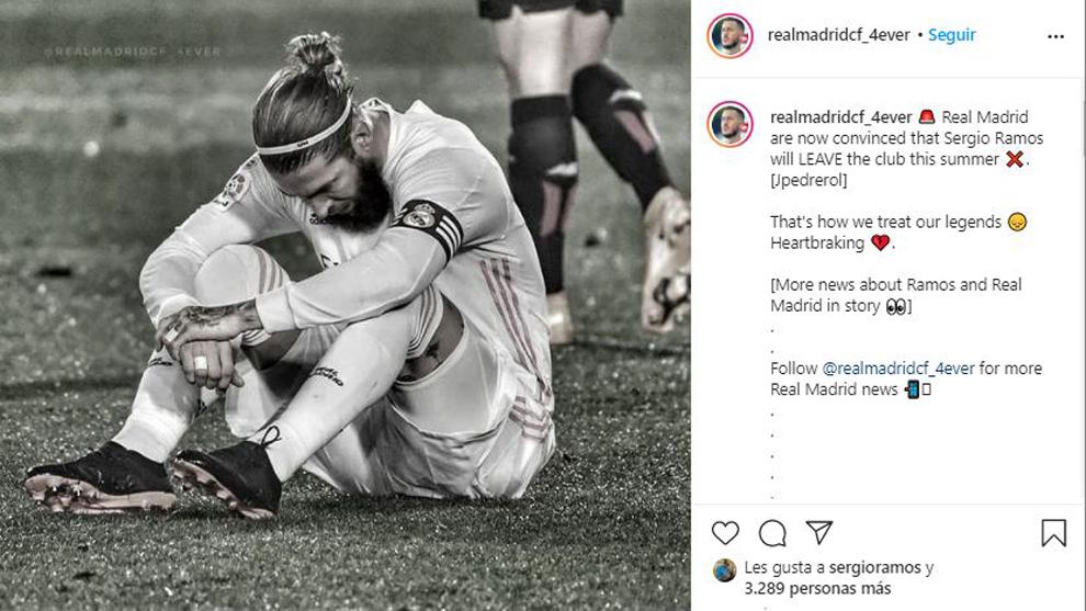 Có hành động 'bất thường', Ramos ngầm báo tin rời Real