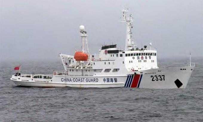 Hải cảnh Trung Quốc lại 'rình rập' tàu cá Nhật Bản