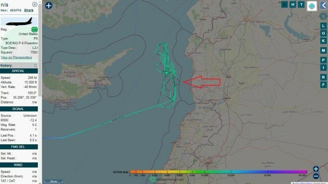 Máy bay chống ngầm Mỹ đe dọa tàu chiến Nga ở Địa Trung Hải