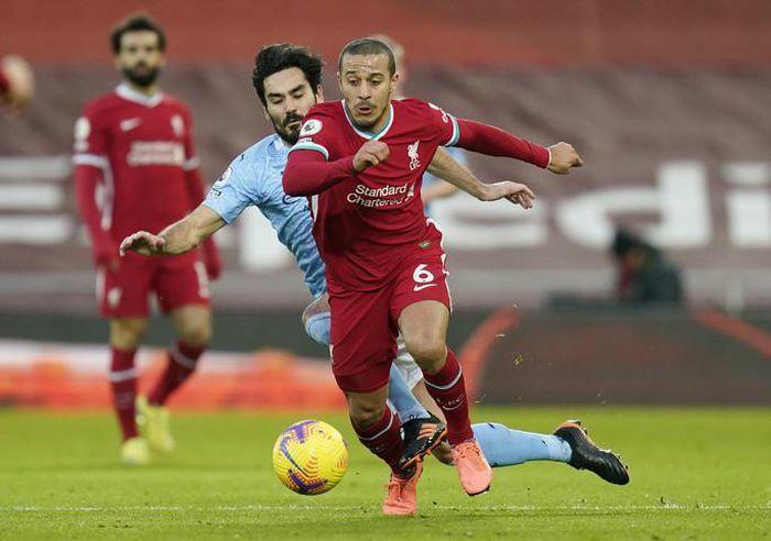 Liverpool thua tan tác Man City ở Anfield