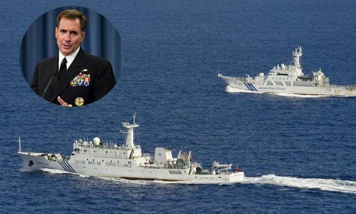 """Quân đội Mỹ vừa cảnh báo Hải cảnh Trung Quốc """"chấm dứt hành động gây tổn hại"""""""