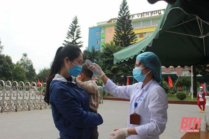 Đẩy mạnh công tác phòng, chống dịch COVID-19 tại Bệnh viện Nhi Thanh Hóa