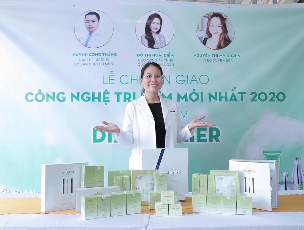 Con đường kinh doanh của CEO thương hiệu Dimanlaier