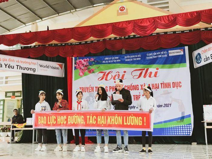 World Vision Việt Nam tổ chức hội thi phòng, chống xâm hại tình dục và bạo lực trẻ em ở Hòa Bình