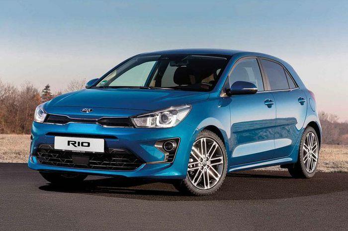 Kia Rio là ôtô được ưa chuộng nhất tại Nga