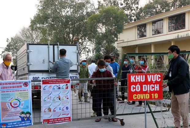Bắc Ninh gỡ phong tỏa thôn có người mắc COVID-19