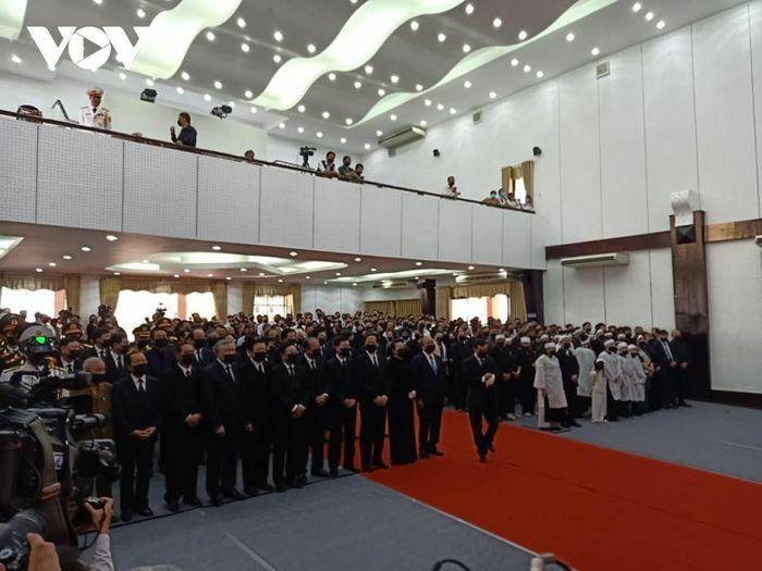 Xúc động Lễ tiễn đưa nguyên Phó Thủ tướng Trương Vĩnh Trọng về đất mẹ