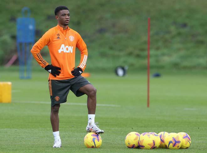 Viện binh Amad Diallo ra mắt MU đua Europa League, cơ hội muộn màng?