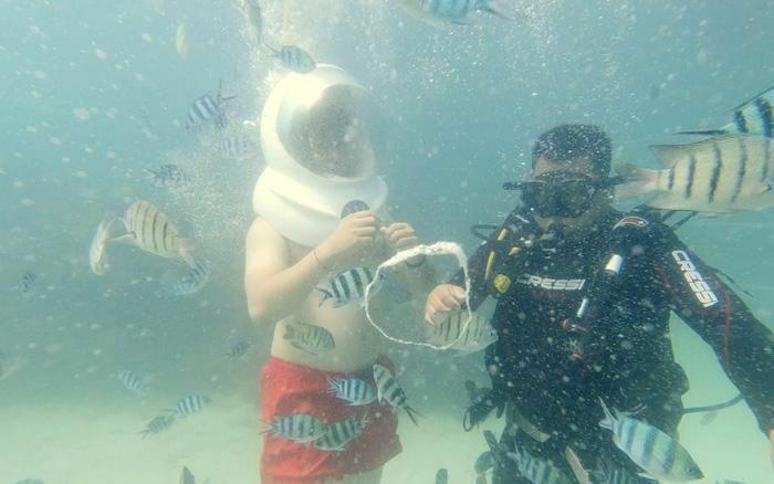 Đến Phú Quốc ngắm hoàng hôn, đi bộ dưới biển ngắm san hô