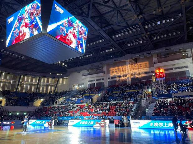 LMHT: Tốc Chiến đang phô trương danh tiếng bằng việc quảng bá tại giải bóng rổ tầm cỡ ở Đài Loan