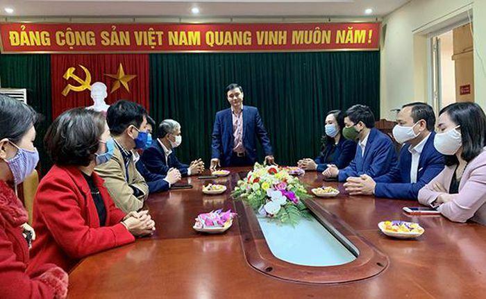 Trưởng ban Tuyên giáo Tỉnh ủy Thái Nguyên làm việc với Hội Nhà báo tỉnh