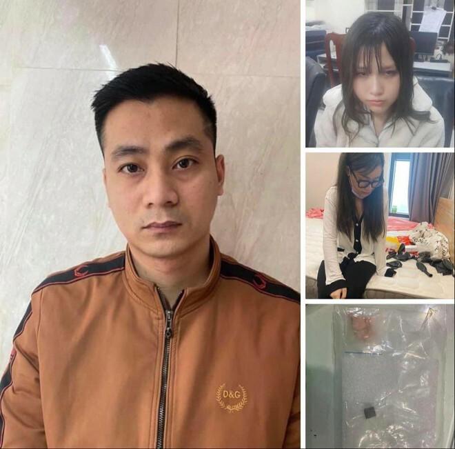 Hà Nội: Xử lý nhóm thanh niên 'bay lắc' trong căn hộ chung cư