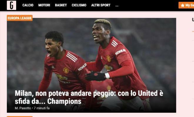 So tài kinh điển MU – Milan Europa League: Báo Italia ngán nhất Fernandes