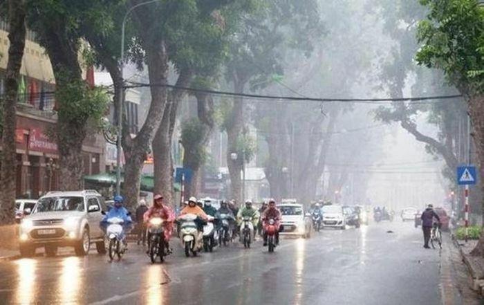 Không khí lạnh gây mưa rét ở miền Bắc, cả nước có mưa
