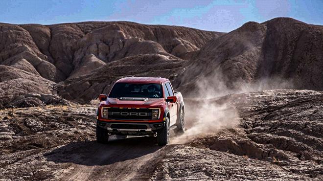 Ford F150 Raptor thế hệ mới trình làng tại Mỹ, xe bán tải đầy cá tính